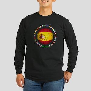 Spain soccer Long Sleeve T-Shirt