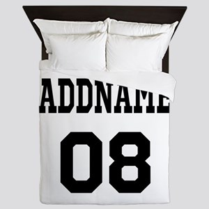 Custom Sports Theme Queen Duvet