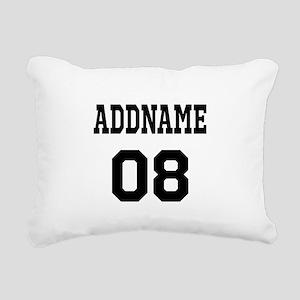 Custom Sports Theme Rectangular Canvas Pillow