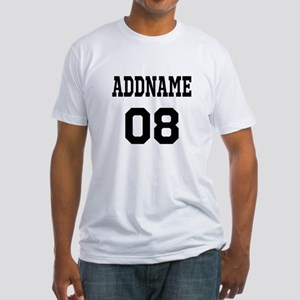 Custom Sports Theme Fitted T-Shirt