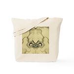 Stylized Angel Wings Tote Bag