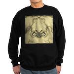 Stylized Angel Wings Sweatshirt