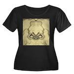 Stylized Angel Wings Plus Size T-Shirt