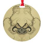 Stylized Angel Wings Ornament