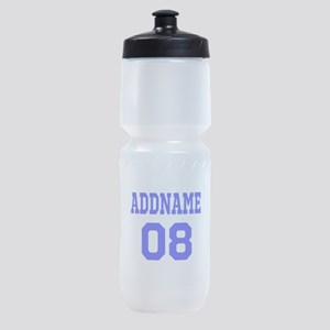 Blue Jersey Style Custom Sports Bottle