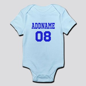 c0846a6531c Custom Football Jerseys Baby Bodysuits - CafePress