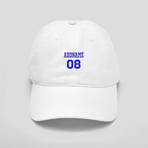 Blue Jersey Style Custom Cap