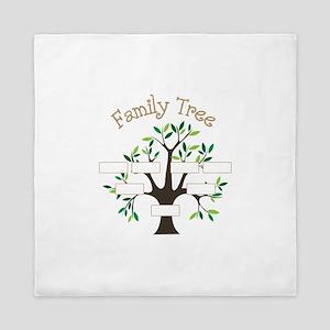 Family Tree Queen Duvet