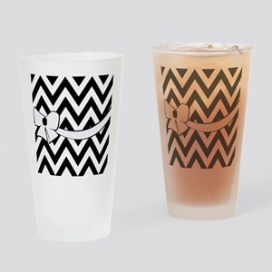 With A White Bow Drinking Glass