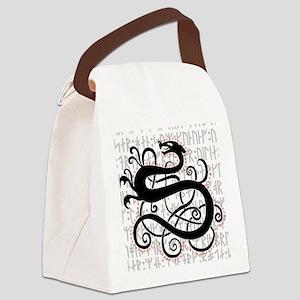 Fafnir The Norse Dragon Canvas Lunch Bag