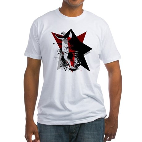 Devil Star Fitted T-Shirt