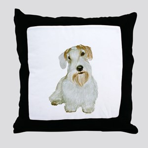 Sealyham T (#1L) Throw Pillow