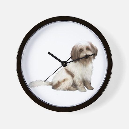 Tibetan Terrier (C) Wall Clock