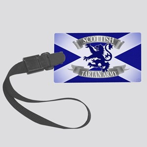 tartan army collection Large Luggage Tag