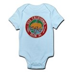 USS CALIFORNIA Infant Bodysuit
