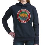 USS CALIFORNIA Women's Hooded Sweatshirt