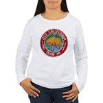 USS CALIFORNIA Women's Long Sleeve T-Shirt