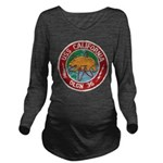 USS CALIFORNIA Long Sleeve Maternity T-Shirt