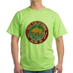 USS CALIFORNIA Green T-Shirt
