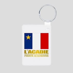 Acadian Flag Keychains