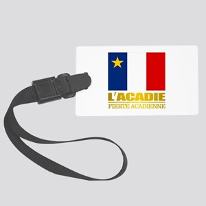 Acadian Flag Luggage Tag