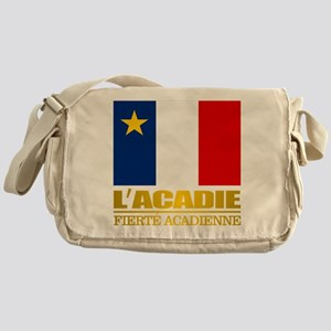 Acadian Flag Messenger Bag