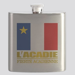 Acadian Flag Flask