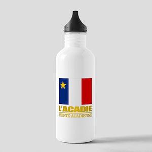 Acadian Flag Water Bottle