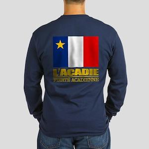 Acadian Flag Long Sleeve T-Shirt