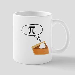 Pumpkin Pie Pi Math Humor Mugs