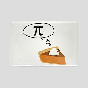 Pumpkin Pie Pi Math Humor Magnets