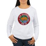 USS CALIFORNIA Women's Long Sleeve T-Shirt