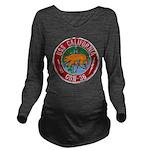 USS CALIFORNIA Long Sleeve Maternity T-Shirt