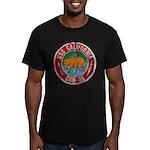 USS CALIFORNIA Men's Fitted T-Shirt (dark)