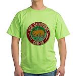 USS CALIFORNIA Green T-Shirt
