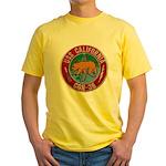 USS CALIFORNIA Yellow T-Shirt