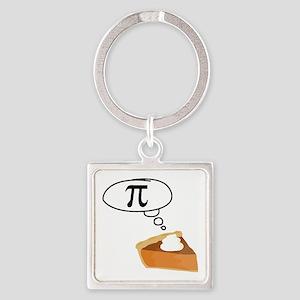 Pumpkin Pie Pi Math Humor Keychains