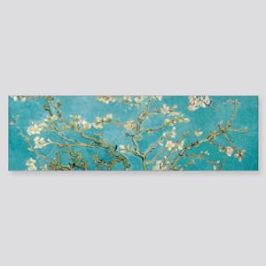van gogh almond blossoms Bumper Sticker