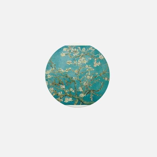 van gogh almond blossoms Mini Button