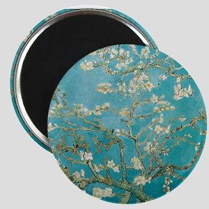 van gogh almond blossoms Magnets