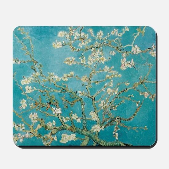 van gogh almond blossoms Mousepad