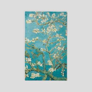 van gogh almond blossoms 3'x5' Area Rug