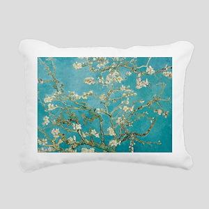 van gogh almond blossoms Rectangular Canvas Pillow
