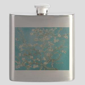 van gogh almond blossoms Flask
