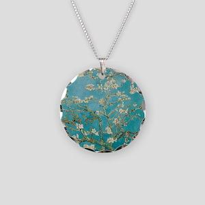 van gogh almond blossoms Necklace