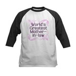World's Greatest Mother-in-Law Kids Baseball Jerse