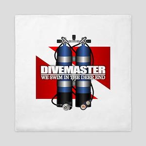 Divemaster (Scuba Tanks) Queen Duvet