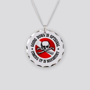 Going Down Is Optional Necklace