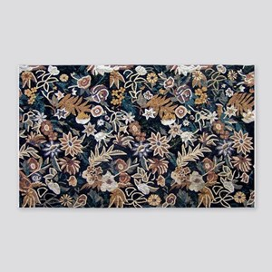 Floral 3'x5' Area Rug