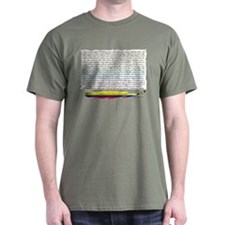 50 Dichos Amor y Desamor Dark T-Shirt